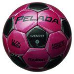 モルテン(Molten) サッカーボール4号球 ペレーダ4000 マジェンタピンク×メタリックブラック F4P4000PK