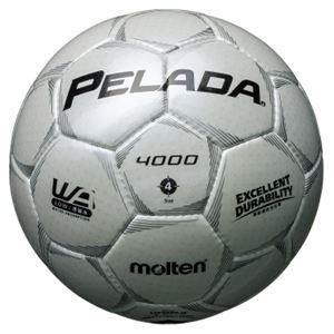 モルテン(Molten) サッカーボール4号球 ペレーダ4000 シャンパンシルバー F4P4000W