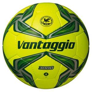モルテン(Molten) サッカーボール4号球 ヴァンタッジオ3000 ライトイエロー×グリーン F4V3000YG