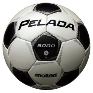 モルテン(Molten) サッカーボール5号球 ペレーダ3000 シャンパンシルバー×メタリックブラック F5P3000