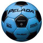 モルテン(Molten) サッカーボール5号球 ペレーダ4000 サックスブルー×メタリックブラック F5P4000CK