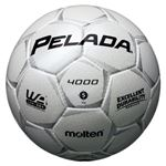 モルテン(Molten) サッカーボール5号球 ペレーダ4000 シャンパンシルバー F5P4000W