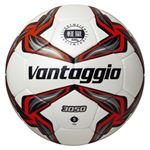 モルテン(Molten) 軽量サッカーボール5号球 ヴォンタッジオ3050軽量 シャンパンシルバー×レッド F5V3050LR