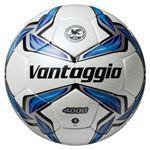 モルテン(Molten) サッカーボール5号球 ヴァンタッジオ4000 シャンパンシルバー×ブルー F5V4000