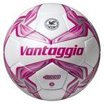 モルテン(Molten) サッカーボール5号球 ヴァンタッジオ4000 シャンパンシルバー×ピンク F5V4000P