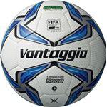 モルテン(Molten) サッカーボール5号球 ヴァンタッジオ5000コンペティション ホワイト×ブルー F5V5002