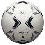 モルテン(Molten) ソフトサッカーボール3号球相当 ゴラッソ ソフトサッカー ホワイト×ブラック×シルバー SS3XGWの画像