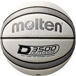 モルテン(Molten) アウトドアバスケットボール7号球(ホワイト×シルバー) B7D3500WS