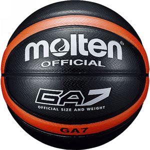 モルテン(Molten) バスケットボール7号球 GA7(ブラック) BGA7KO
