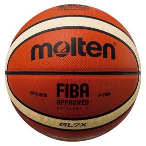 モルテン(Molten) バスケットボール7号球 GL7X 国際公認球・JBA検定球 BGL7X