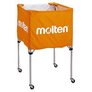 モルテン(Molten) 折りたたみ式ボールカゴ(中・背高 屋内用) オレンジ BK20HO