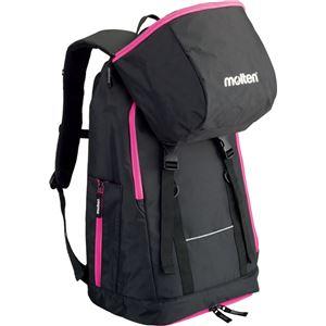 モルテン(Molten) バックパック ミニバスケットボール用(黒×ピンク) LB0032KP