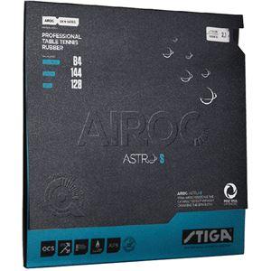 STIGA(スティガ) テンション系裏ソフトラバー AIROC ASTRO S(エアロックアストロ S)レッド 厚