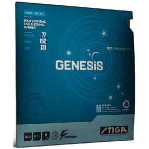 STIGA(スティガ) テンション系裏ソフトラバー GENESIS M(ジェネシス M)ブラック 厚