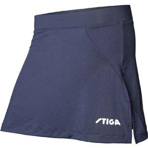 STIGA(スティガ) 卓球ユニフォーム MARINE SKIRT マリンスカート ネイビー 3XS