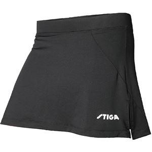 STIGA(スティガ) 卓球ユニフォーム MARINE SKIRT マリンスカート ブラック 4XL