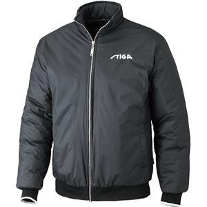 STIGA(スティガ) 卓球アウター SEASON JACKET シーズンジャケット ブラック M