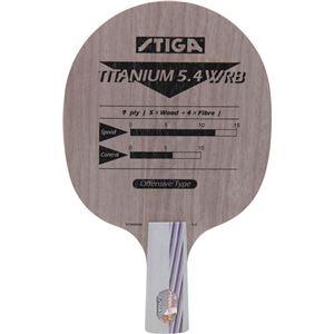 STIGA(スティガ) 中国式ラケット TITANIUM 5.4 WRB PENHOLDER(チタニウム 5.4 WRB ペンホルダー)