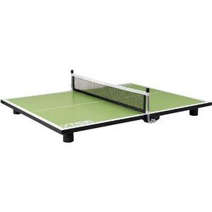 STIGA(スティガ) PURE SUPER MINI TABLE スーパーミニ卓球台 ピュア ネオングリーン