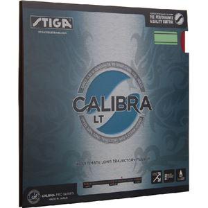 STIGA(スティガ) テンション系裏ソフトラバー CALIBRA LT(キャリブラ LT)レッド 中厚