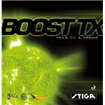 STIGA(スティガ) テンション系裏ソフトラバー BOOST TX(ブースト TX) レッド 中厚