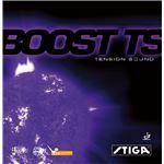 STIGA(スティガ) テンション系裏ソフトラバー BOOST TS(ブースト TS) ブラック 中厚