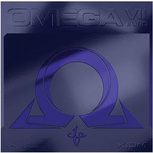 XIOM(エクシオン) 裏ソフトラバー OMEGA VII EURO(オメガVII ヨーロ) 095884 ブラック 2.0