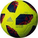 adidas(アディダス) ワールドカップ2018 テルスター18 キッズ 4号球 AF4300Y(イエロー)