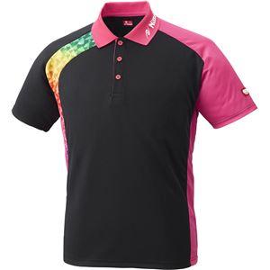 ニッタク(Nittaku)卓球アパレルBUMERANSHIRT(ブメランシャツ)ゲームシャツ(男女兼用)NW2178ピンクL