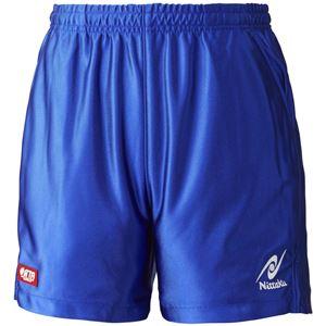 ニッタク(Nittaku)卓球パンツ RUMISTAR SHORTS(ルミスターショーツ)男女兼用 NW2503 ブルー M