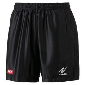ニッタク(Nittaku)卓球パンツ RUMISTAR SHORTS(ルミスターショーツ)男女兼用 NW2503 ブラック M