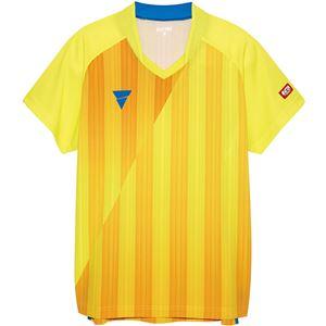 VICTAS(ヴィクタス) VICTAS V‐NGS052 ユニセックス ゲームシャツ 31467 イエロー M