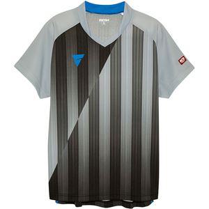 VICTAS(ヴィクタス) VICTAS V‐NGS052 ユニセックス ゲームシャツ 31467 グレー 3XL
