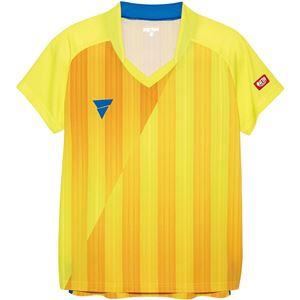 VICTAS(ヴィクタス) VICTAS V‐LS054 レディース ゲームシャツ 31468 イエロー 2XL