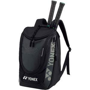 Yonex(ヨネックス)ラケットバッグ バックパック(テニス2本用) ブラック BAG1848
