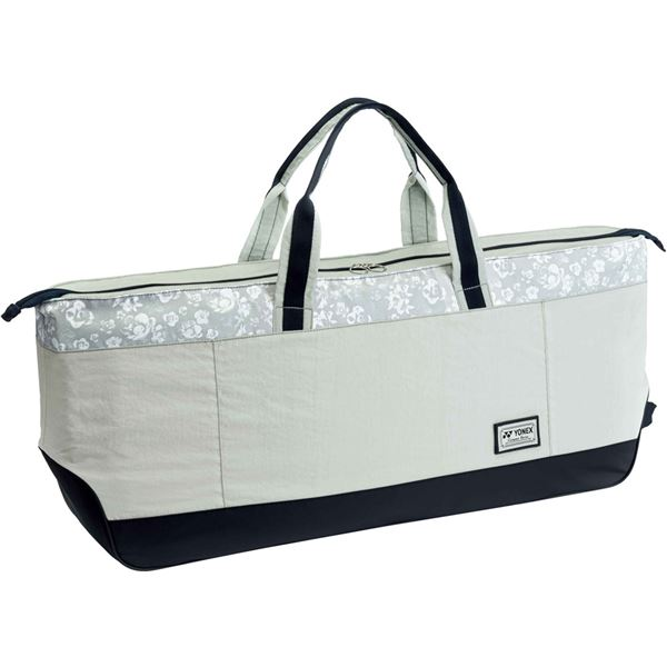 Yonex(ヨネックス)COMPACT SERIES トートバッグワイド(テニス2本用) ライトグレー BAG1861W