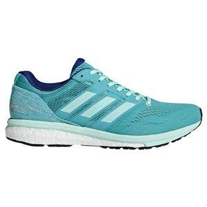 adidas(アディダス)adizeroBoston3wハイレゾアクアF18×クリアミントF18×ミステリーインクF17BB6498【22.0cm】