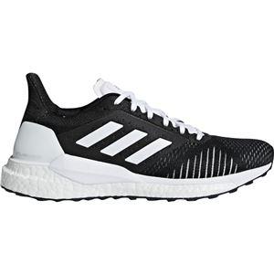 adidas(アディダス) SOLAR GLIDE ST W コアブラック×コアブラック×ランニングホワイト BB6617 【23.0cm】