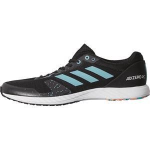 adidas(アディダス) adizero rc コアブラック×ハイレゾアクアF18×ランニングホワイト BB7336 【22.5cm】