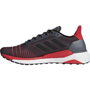 adidas(アディダス) SOLAR GLIDE M グレーファイブF17×コアブラック×ハイレゾレッドS18 CQ3176 【28.5cm】