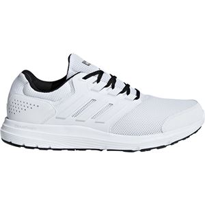 adidas(アディダス)adidasGLX4Mランニングホワイト×ランニングホワイト×コアブラックB75573【25.0cm】