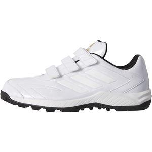 adidas(アディダス) adidas Baseball アディピュア TRV クリスタルホワイトS16×クリスタルホワイトS16×ゴールドメット CG4590 【25.0cm】