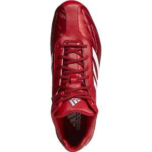 adidas(アディダス) adidas Baseball アディゼロ T3 MID パワーレッド×クリスタルホワイトS16×シルバーメット CQ1259 【25.0cm】