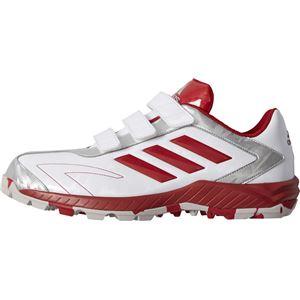 adidas(アディダス) adidas Baseball アディピュア TRV クリスタルホワイトS16×パワーレッド×ゴールドメット CQ1278 【26.5cm】