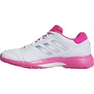 adidas(アディダス) adidas Tennis BARRICADE CLUB W OC ランニングホワイト×ショックピンクF18×リアルピンクS18 BC0387 【24.5cm】