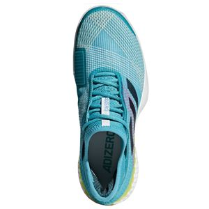 adidas(アディダス) adidas Tennis UBERSONIC 3 MULTICOURT ランニングホワイト×レジェンドインクF17×ショックイエローF18 F36721 【25.0cm】