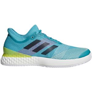 adidas(アディダス) adidas Tennis UBERSONIC 3 MULTICOURT ランニングホワイト×レジェンドインクF17×ショックイエローF18 F36721 【25.5cm】