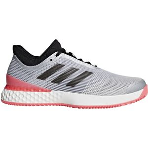 adidas(アディダス) adidas Tennis UBERSONIC 3 MULTICOURT マットシルバー×コアブラック×フラッシュレッドS15 F36722 【25.0cm】