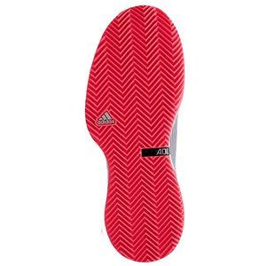 adidas(アディダス) adidas Tennis UBERSONIC 3 MULTICOURT マットシルバー×コアブラック×フラッシュレッドS15 F36722 【28.0cm】
