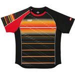VICTAS TSP 卓球アパレル ゲームシャツ クラールシャツ 男女兼用 031428 ブラック 2XS